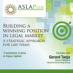 Building a winning position in legal market